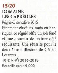 RVF 2016 juillet aout Chamodère