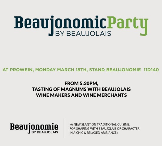 PROWEIN 2019 - Invitation Beaujonomic Party 11D140