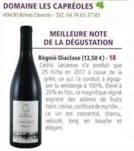 Beaujolais aujourd'hui Mai 2019 Focus Diaclase