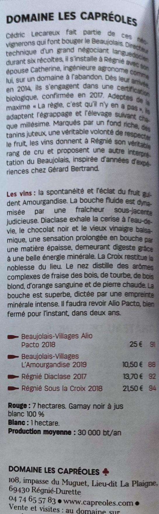 Guide vert 2021 Revue du vin de France