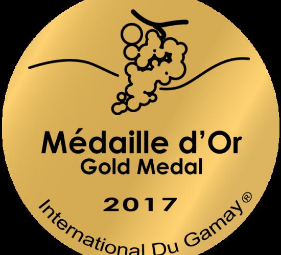Médaille d'or pour Cossinelle 2016