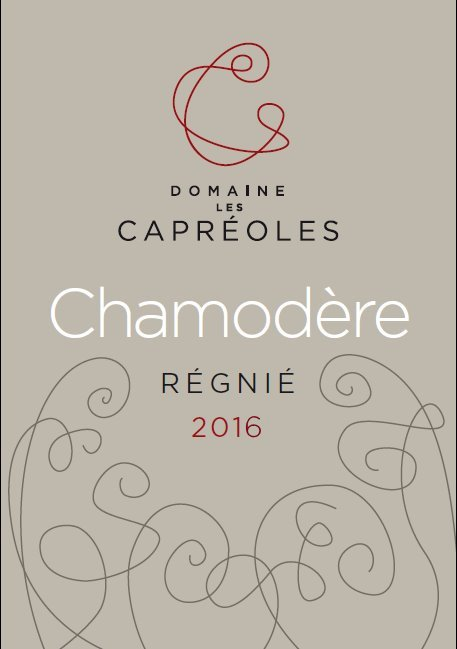 Chamodère 2016